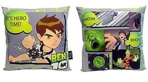 Ben 10 Large Printed Cushion 'Hero Time!'