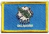 USA Oklahoma Flag embroidered Iron-On Patch