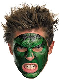 Disguise Costume Hulk #11625 Face Costume