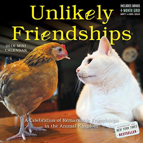 Unlikely Friendships Mini Wall Calendar 2016 (2016 Calendar)
