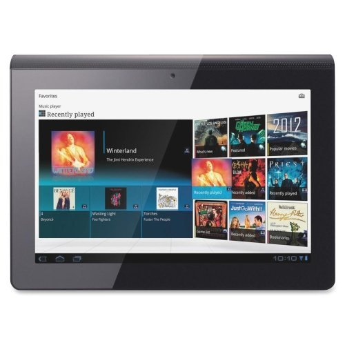 Sony SGPT112US/S Tablet Computer - NVIDIA Tegra 2 250 1GHz - 9.4 WXGA Display - 1GB DDR2 SDRAM - NVIDIA ULP GeForce - Wi-Fi: Yes - Bluetooth: Yes - Webcam: Yes - Android