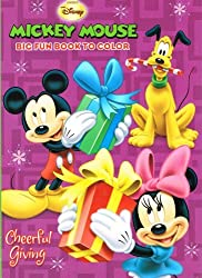 Disney Mickey and Minnie Christmas Coloring Book