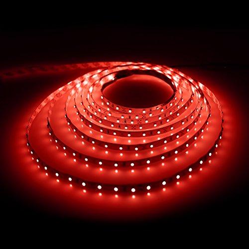 Le 164ft flexible led strip lights 300 units smd 3528 leds red le 164ft flexible led strip lights 300 units smd 3528 leds red non waterproof 12v light strips led tape led ribbon aloadofball Gallery