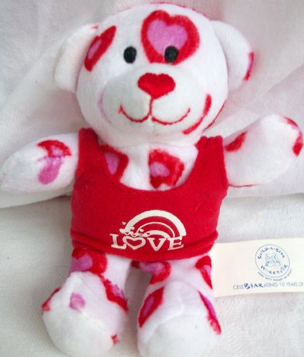 Hearts Fur You Teddy, Build a Bear Workshop, Mcdonald's Happy Meal Teddy Bear Doll Toy