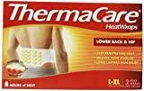 ThermaCare Lower Back & Hip Heat Wraps, Large-XL,  2-Count Boxes (Pack of 3)