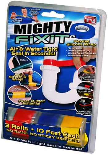 Mighty Fix It Tape As Seen On TV, 3 Rools