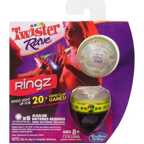 Twister Rave Ringz - Green