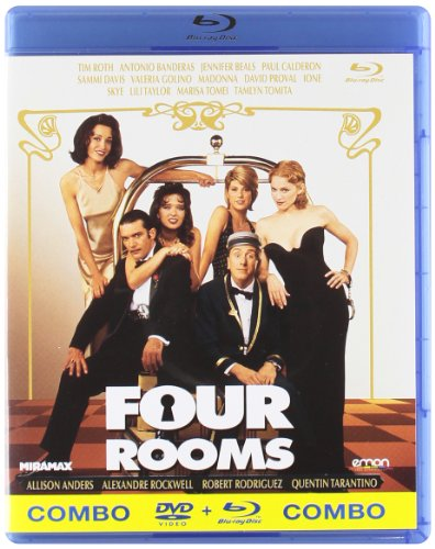 Four Rooms (Combo) [Blu-ray]