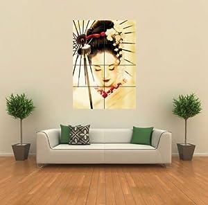 GEISHA JAPANESE NEW GIANT WALL ART PRINT POSTER G347