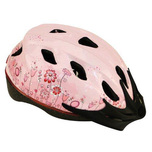 Profex Fahrradhelm Flower  S/m, pink, 54-58 cm, 62342