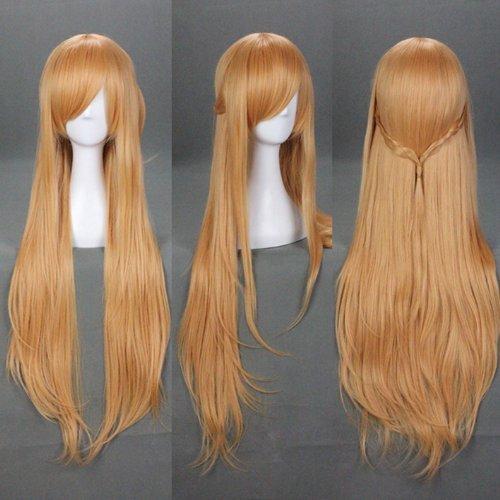 100cm-40-inch-sword-art-online-sao-asuna-brown-cosplay-wig