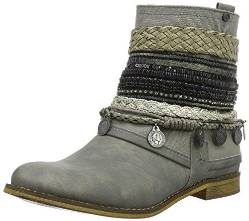 BULLBOXERAnkle Boots - Stivali da Motociclista Donna , Grigio (Grau (ice)), 40