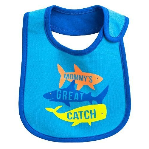 Carter's Baby Bib 'MOMMY'S GREAT CATCH' - 1