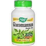 Natures Way, Glucomannan Konjac Root 665 MG, 100 Veggie Capsules (Tamaño: 100 Count)