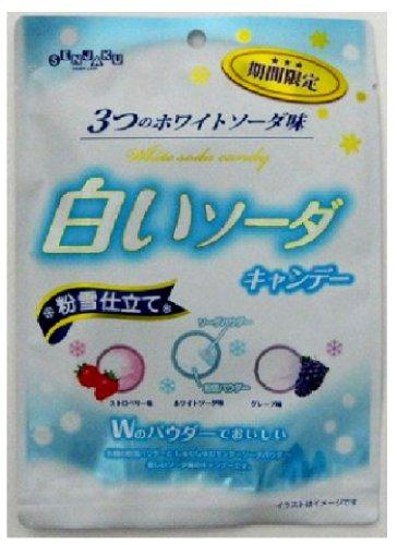 扇雀飴本舗 白いソーダキャンデー 80g×6個
