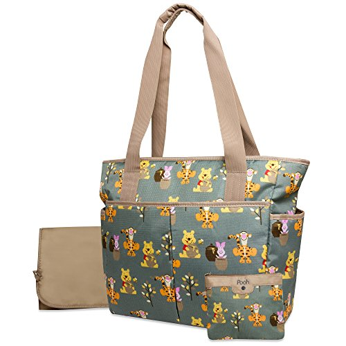 Disney Rip Stop Diaper Bag, Winnie The Pooh - 1