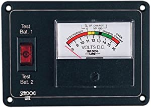 Buy Sea Dog 423112 Battery Monitor W Expanded Made by Sea Dog by Sea Dog Line