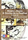 img - for METODOS Y DISE OS INVESTIGACION PSICOLOGIA VOL.2 book / textbook / text book