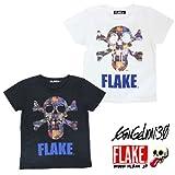 FLAKE/フレイク エヴァンゲリオン コラボ 半袖Tシャツ メンズ M/L EVANGELION FLAKE(フレイク) FLAKE キッズ 半袖 Tシャツ キッズ エヴァTシャツ ダンス 衣装 ヒップホップ