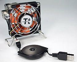 Thermaltake Mobile Fan II External USB Cooling Fan - Us