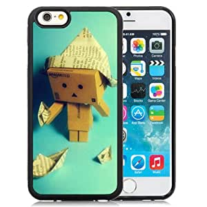 6 Phone cases, Danboard Cardboard Robot Paper Boats Black iPhone 6 4.7 inch TPU cell phone case