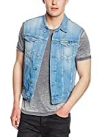 Pepe Jeans London Chaleco Vaquero Toman (Denim)