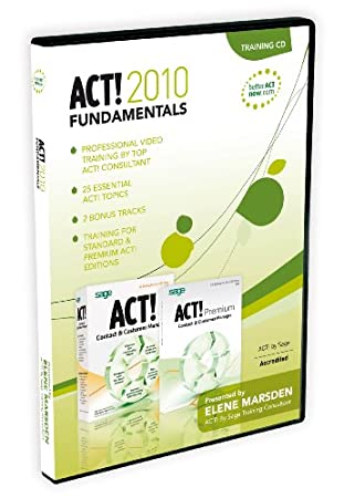 ACT! 2010 Fundamentals Training CD