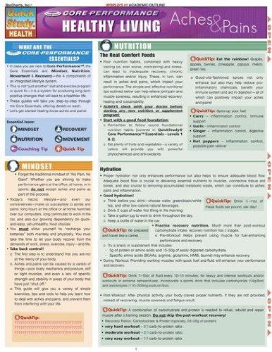 BarCharts, Inc. 9781423205999 Core Performance- Aches & Pains