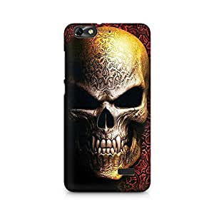 Mobicture Skull Arts Premium Printed Case For Huawei Honor 4C