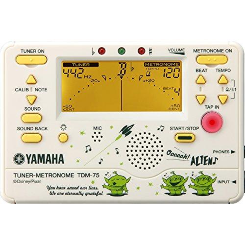 YAMAHA Tuner Metronome / [toy story] TDM-75DT