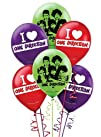 One Direction  1D Latex Balloons 6ct