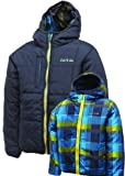Dare2b Temperament Boys Reversible Quilted Jacket / Coat (Airforce Blue, 11 - 12 years (EU 152))