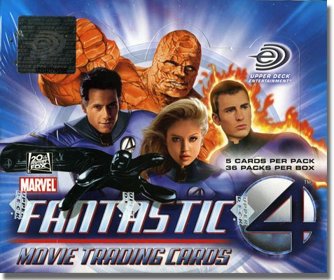 Buy Fantastic Four Movie Trading Cards Box