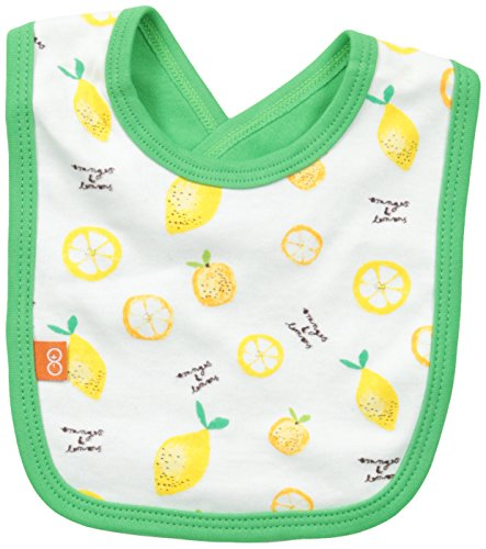 Magnificent Baby Baby-Girls Newborn Oranges and Lemons Reversible Bib, Oranges/Lemons, One Size
