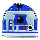 Loungefly【ラウンジフライ STLUT0003 Star Wars スターウォーズ R2-D2 ラゲージタグ 青/銀/白】