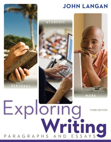 Exploring Writing: Paragrapsh and Essays W/ Connect Writing 3.0 Access Card
