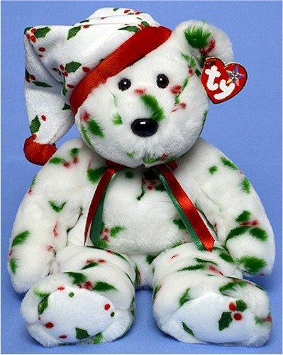 Ty Beanie Buddies 1998 Holiday Teddy - Bear - 1