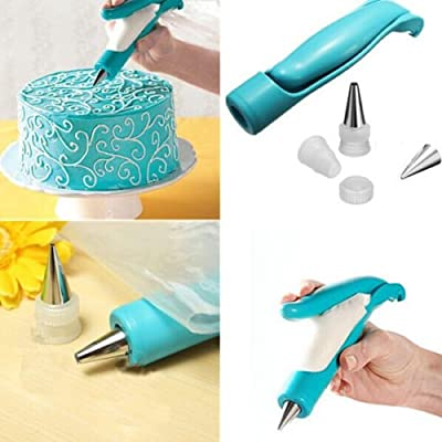 1 X Pastry Icing Piping Bag Nozzles Tips Fondant Cake Sugarcraft Tool Decorating Pen