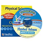 NewPath Learning Middle School Physical Science Interactive Whiteboard CD-ROM, Site License, Grade 6-9