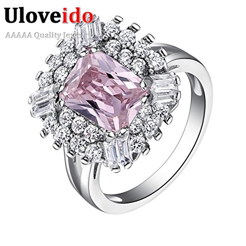 [GemMart Jewelry Famous Purple Ring Jewelry Acessorios with Created Vintage Bague and Anel J550] (Famous Trios Costumes)