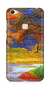 Amez designer printed 3d premium high quality back case cover for Vivo X6 (nature beauty scenary)