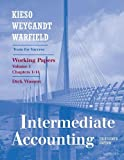 Working Papers, Volume I (Chapters 1-14) to accompany Intermediate Accounting