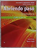 img - for Pearson - Abriendo paso: Gramatica - Teacher's Resource Book book / textbook / text book