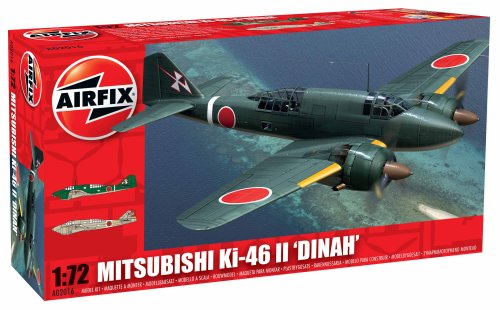 Airfix Modello Mitsubishi Ki-46-ii 'dinah' scala 1:72