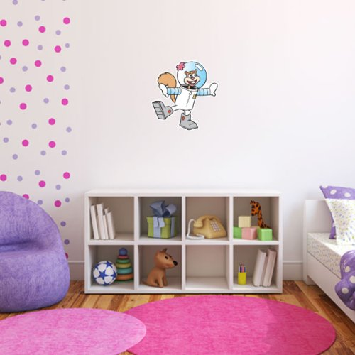 Spongebob Sandy Cheeks Wall Graphic Decal Sticker 23