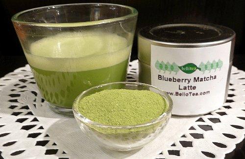 Bello Tea Blueberry Matcha 8 Oz