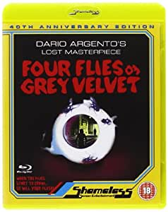 Four Flies on Grey Velvet [Blu-ray] [Import anglais]
