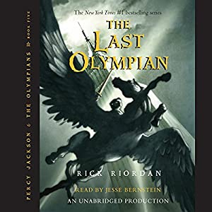 The Last Olympian: Percy Jackson, Book 5 Audiobook