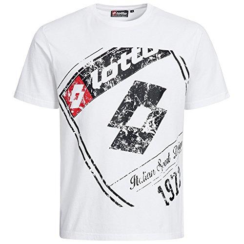 lotto-t-shirt-da-uomo-classic-sport-italia-mitak-logo-tee-mix-fw15lelm021-white-l