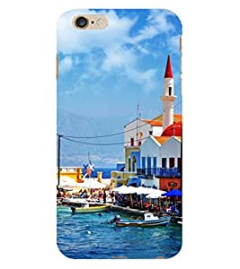 D KAUR Beautiful Beach View Back Case Cover for Apple iPhone 6 Plus